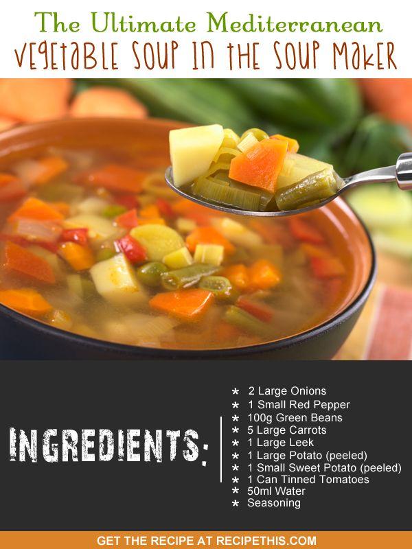 mediterranean #souprecipe via my #soupmaker :)