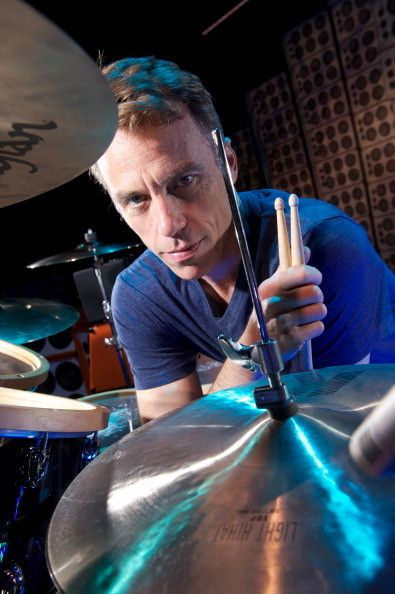 Matt Cameron, drummer with American grunge rock group Pearl Jam before a performance at the Manchester Evening News Arena, on June 21, 2012.