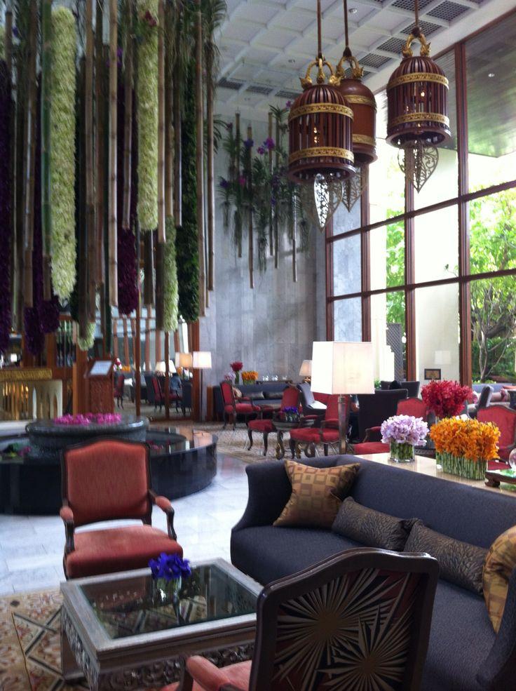 Mandarin oriental Bangkok lobby