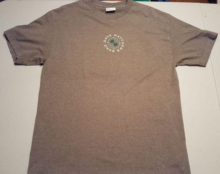Dave Matthews Band Summer 2001 T Shirt Sz L Large DMB Rock Music Jam Concert #musictodaycom #GraphicTee