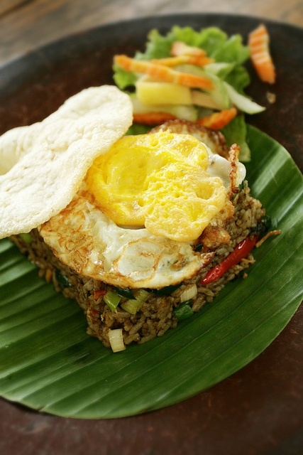 Nasi goreng (fried rice) #Indonesian recipes #Indonesian cuisine #Asian recipes #Asian cuisine http://indostyles.com/