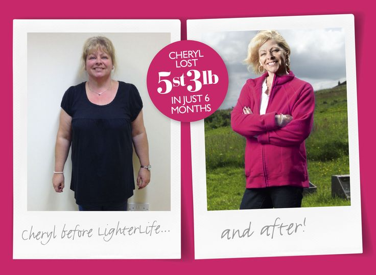 Cheryl Ralston used to be a secret eater but #LighterLife helped her rethink her eating habits. She lost 5st 3lb in just 6 months. Like if you're having a similar rethink!