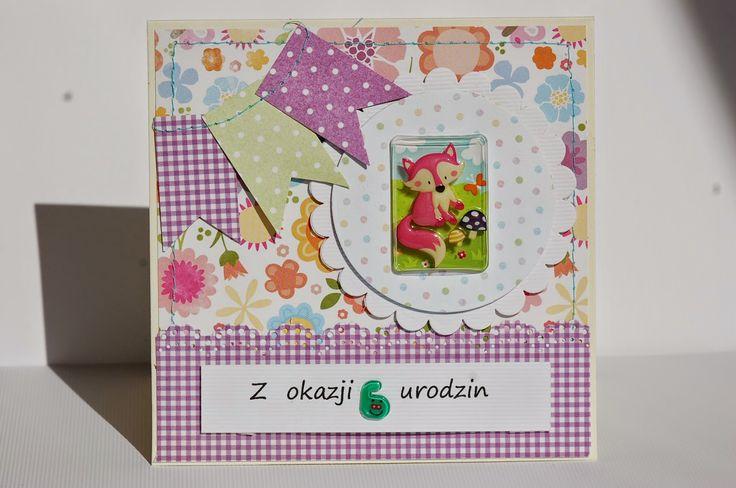 olania scrapbook: Kartki urodzinowe....