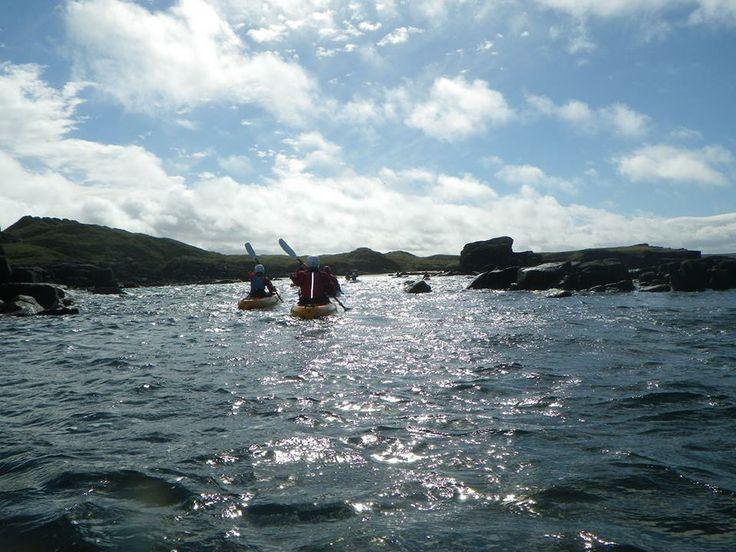 Sea Kayaking in Carrickfin