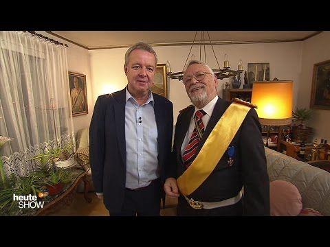 Carsten van Ryssen trifft den Reichskanzler Norbert Schittke - heute-show vom 02.12.2016 | ZDF - YouTube