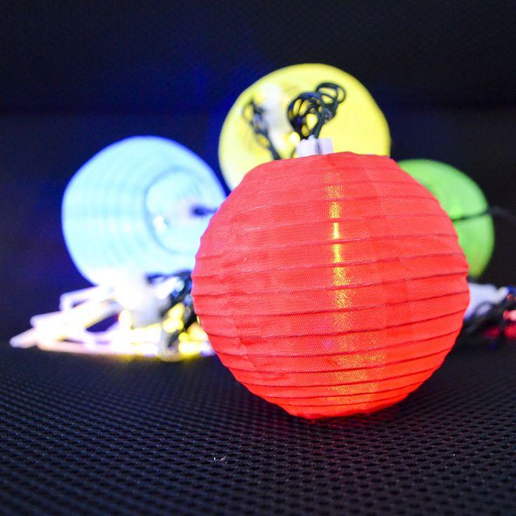 Outdoor Lantern String Lights