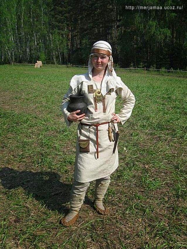Mariler - Marik - Mari People - Марийцы - Türk Asya - Asian Turkish, Тюрки России