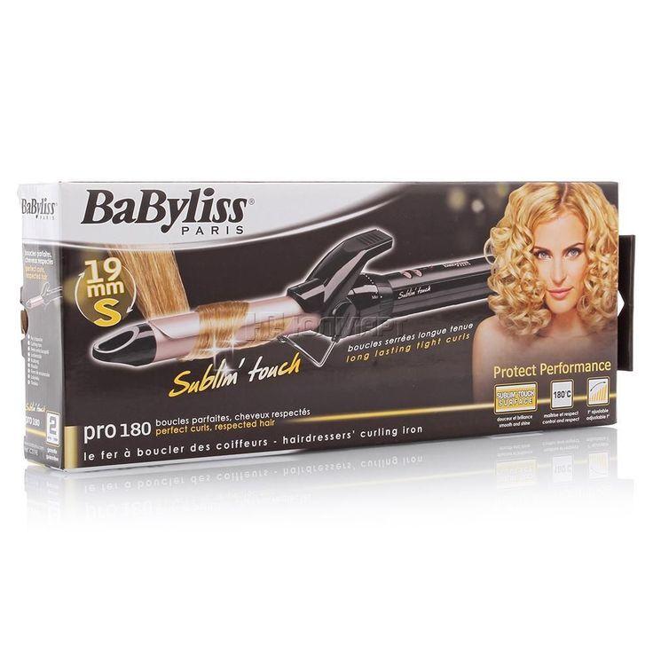 Щипцы для завивки волос BaByliss Pro 180 C319E, цена, фото и характеристики. Купить фены и приборы для укладки волос в интернет магазине Шоп Здоровье