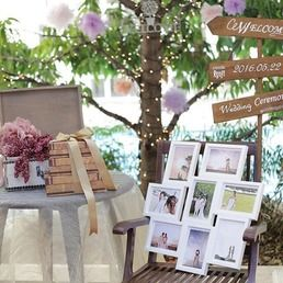 2016年5月22日にアーフェリーク迎賓館にて結婚式を行われた、卒花嫁「r0104r」さまの装飾コーディネートをご紹介*純白のチャペルや会場が、ハイセンスなDIYアイテムを使いおしゃれでアンティークな空間に。上品にまとめられた夢のような空間を、ぜひチェックしてみてください♡