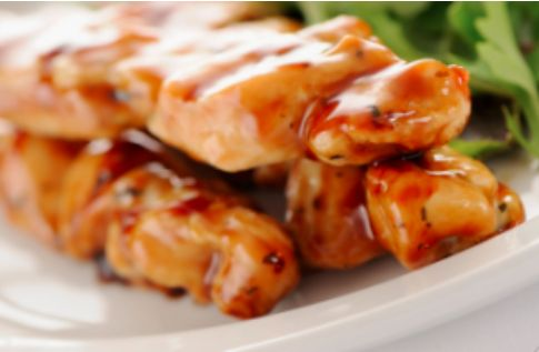Thermomixing Chicken With Satay Sauce