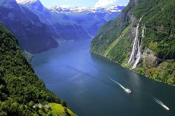 Wodospad Siedem Sióstr (Norwegia)