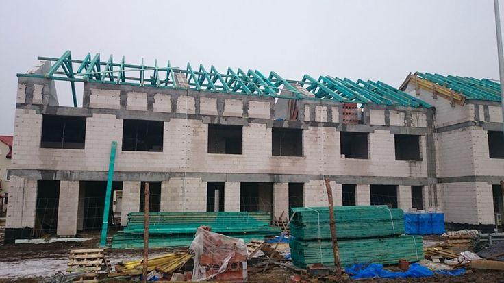 Budowa mieszkań w Rumi - Osada Kazimierza - Styczeń 2016