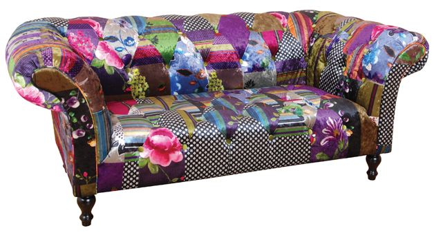 Harlequin love seat