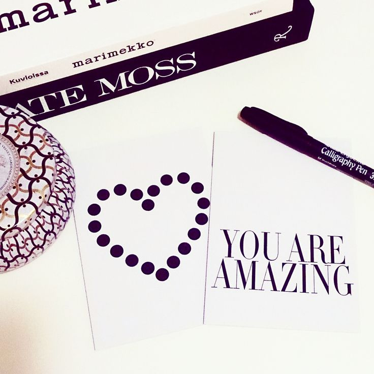You Are Amazing cards by VISKA print