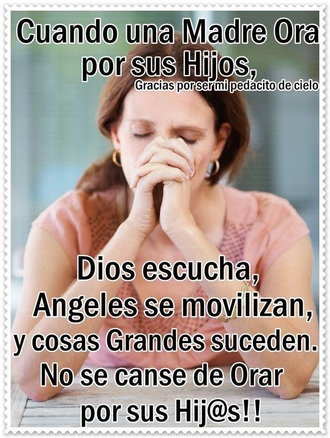 Orar por los hijos