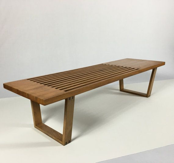Mid Century Solid Wood Small Platform Slat Bench Or Coffee: Best 25+ Hallway Bench Seat Ideas On Pinterest