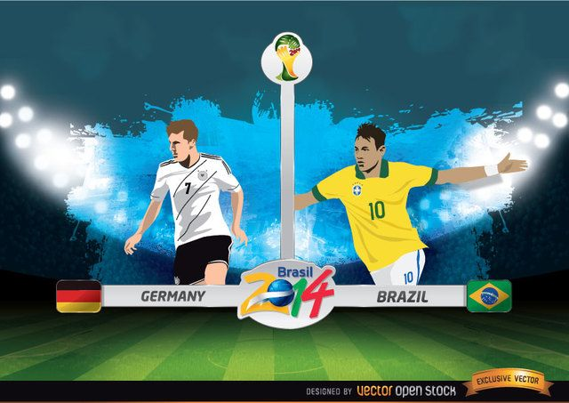 Germany Vs Brazil Fifa World Cup Germany Vs World Cup Germany Team
