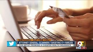 """SCAM ALERT – KENTUCKY – HEALTH INSURANCE SCAM ALERT – Attorney General: Health insurance scammers targeting Ky. families – 'Beshear issued a Scam Alert Friday after receiving reports that scammers who claim to be calling from """"National Health Enrollment Center"""" pretend to assist families in obtaining affordable health insurance.'"""