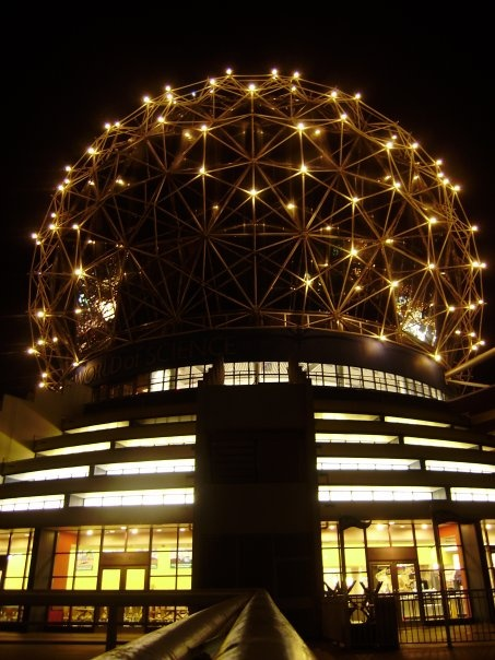Science world, Vancouver, BC - photograph taken by Rosalia Marie