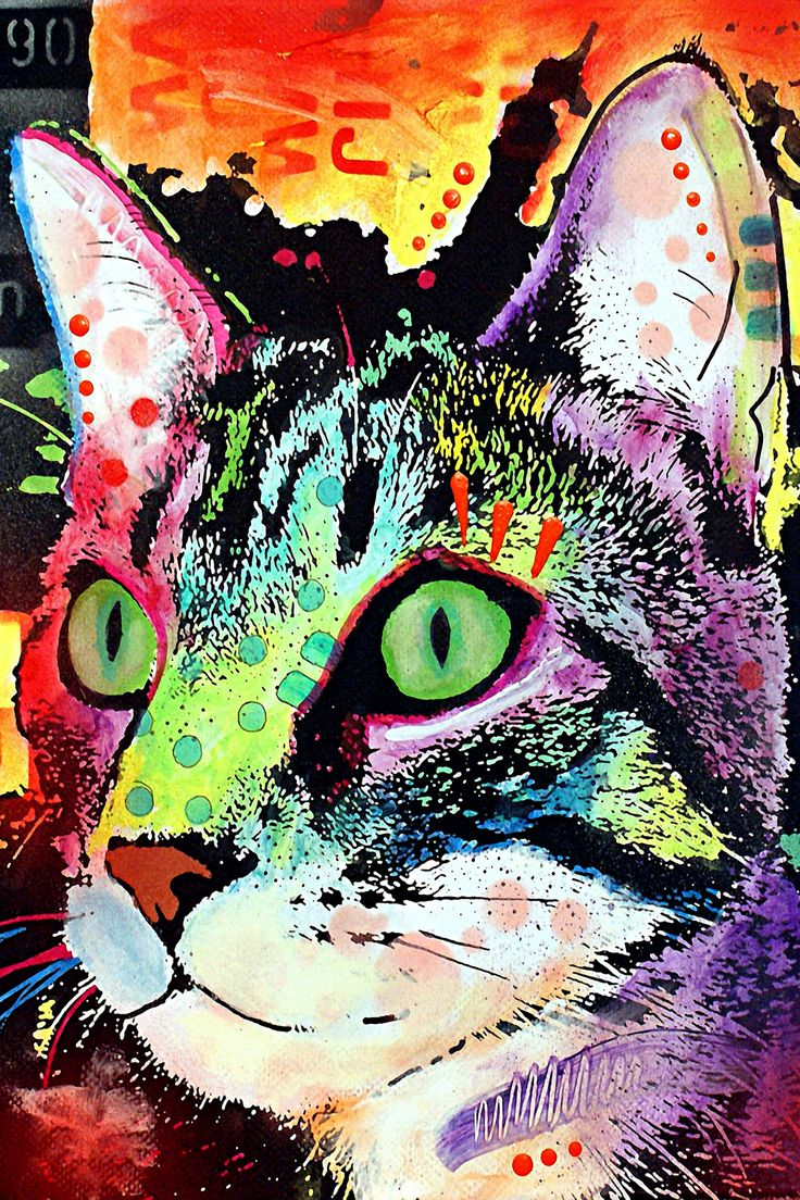 curiosity cat canvas print by dean russo - Dean Russo