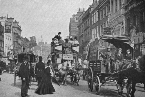 Victorian London  around 1900