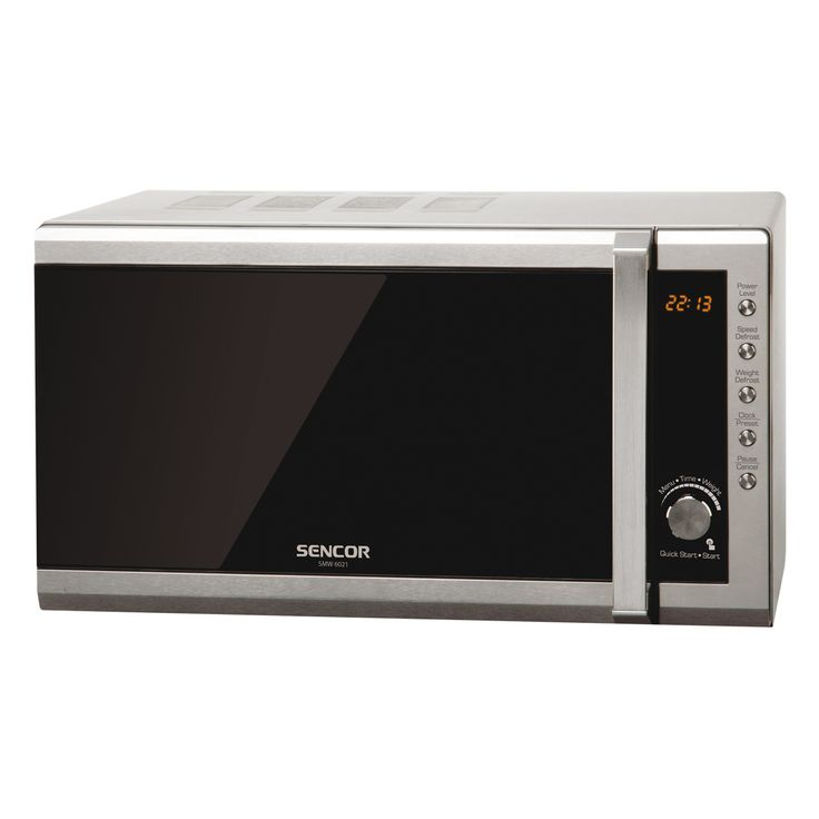 Microwave Oven SMW 6001DS - Preprogrammed cooking - Quick start function - Child safety lock