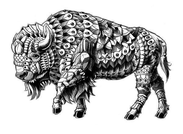 1000 Ideas About Buffalo Tattoo On Pinterest Bison Tattoo Tattoos And Animal