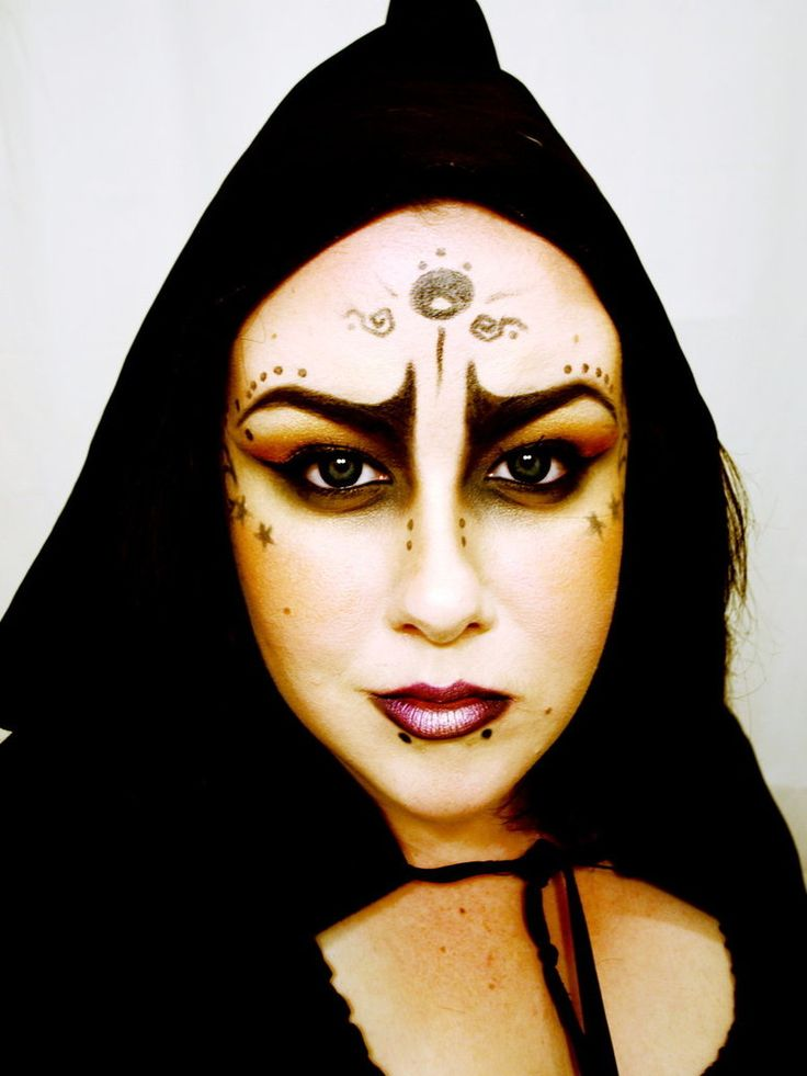 easy scary witch makeup scary witch makeup ideas - Easy But Scary Halloween Makeup