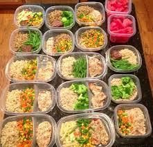 The key to losing weight is to preplan. This blog talks about how to prep your meals for a successful week. Click above to get more information.