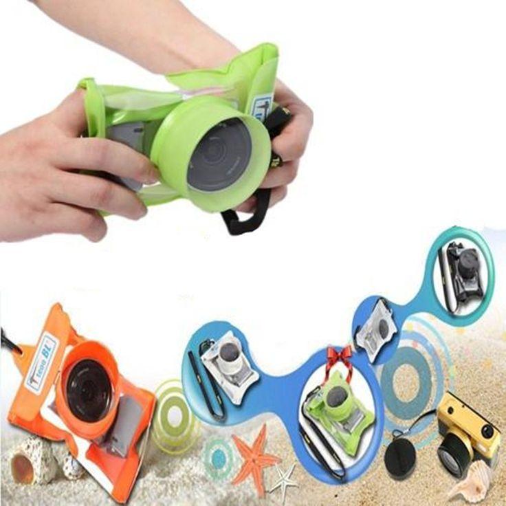 Waterproof Bag Retractable Camera Lens Case Micro Digital Camera Box Waterproof Camera Case For Nikon Canon Sony