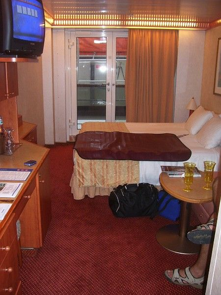 Carnival Pride French Door Cabins