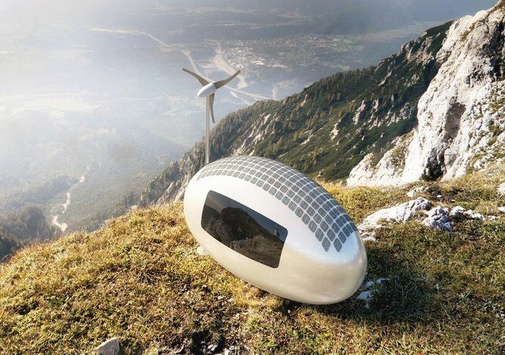 Gelecekten Gelen Ev: Ecocapsule
