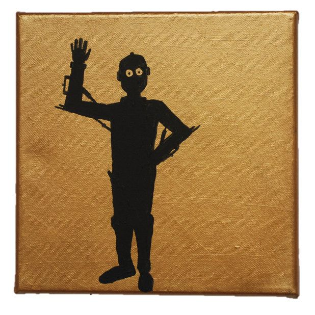 Star Wars C3PO Silhouette by BoutiqueAustralia on Etsy