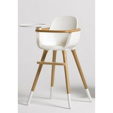 17 meilleures id es propos de chaise haute b b bois sur for Chaise haute en bois evolutive