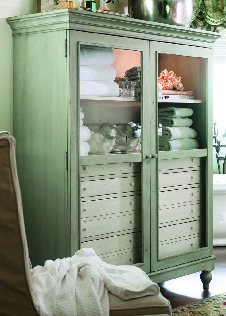 Paula Deen Home The Bag Lady S Cabinet In Spanish Moss In