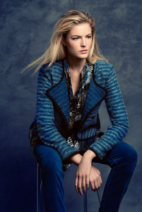 KRISS Fall Collection 2014, Tunic and a jacket with a mix of wool.