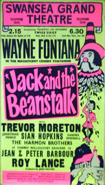 Swansea Grand Theatre Pantomime Archive