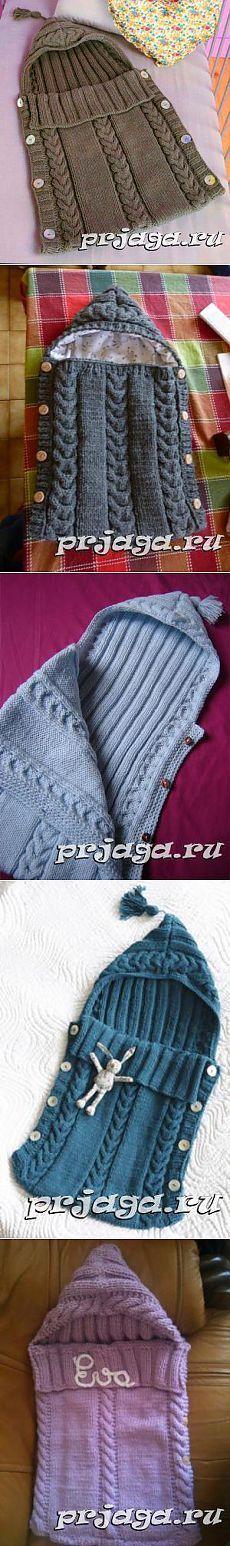 Теплый конверт спицами малышу [] #<br/> # #Batu,<br/> # #Baby #Blankets,<br/> # #Tissues<br/>