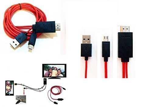 Mondpalast Micro USB MHL to HDMI Adapter for Sony xperia Z , Z1 , Z2 ,Z1 compact , Z ultra