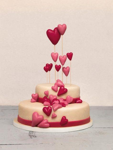Hochzeitstorte Mit Marzipan Selbst Dekorieren Diy Crafts Cake