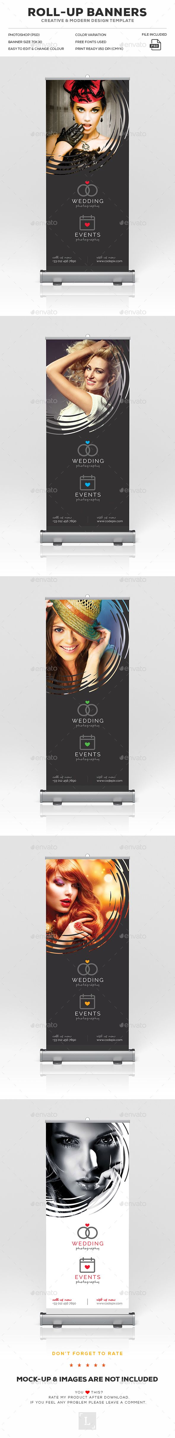 Design a banner to print - Photography Roll Up Banner Roll Up Designrollup Bannerprint