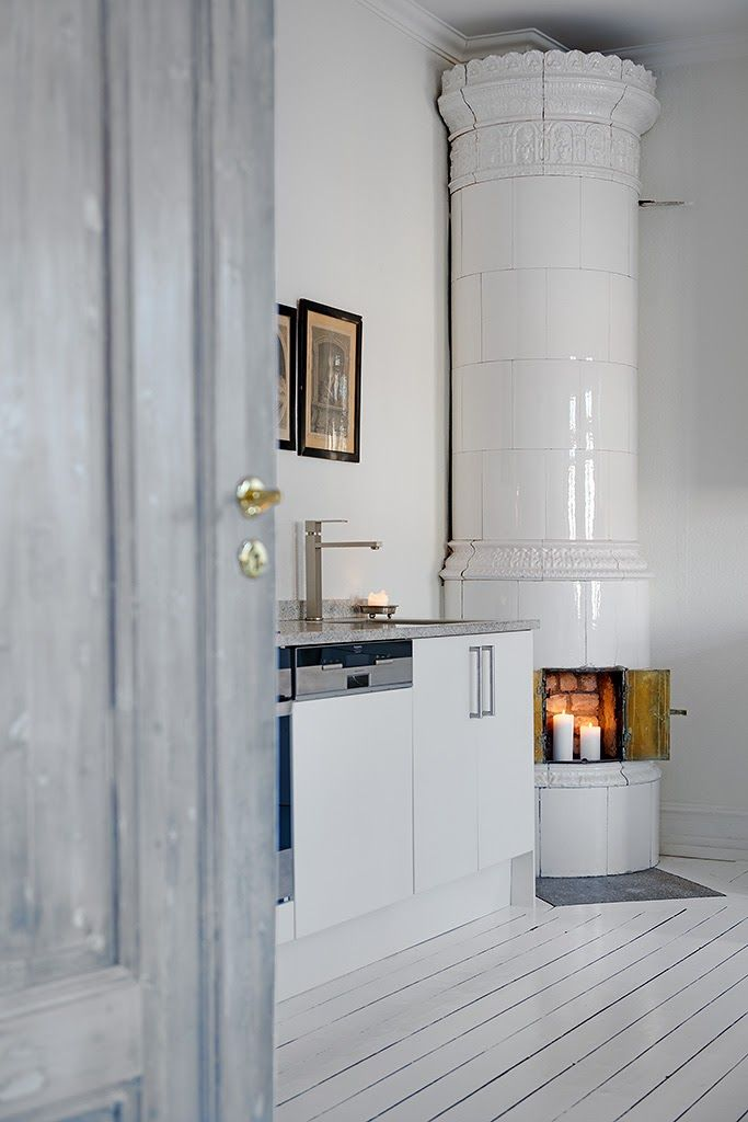 Swedish Fireplace Inspiration | Second Shout Out