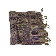 IVYS Purple Pashmina