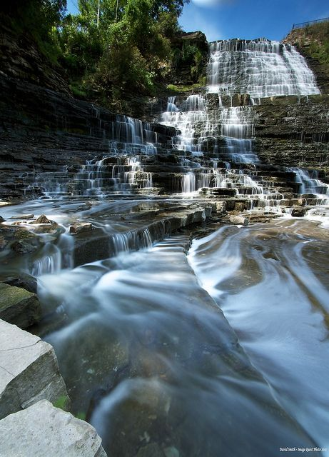 Albion Falls, Hamilton, Ontario #GILOVEONTARIO Home of so many beautiful waterfalls!
