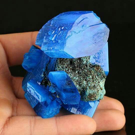Chalcanthite from Poland