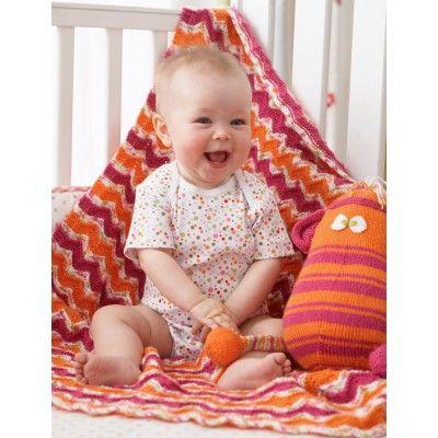 Easy Baby's Blanket Knit Pattern