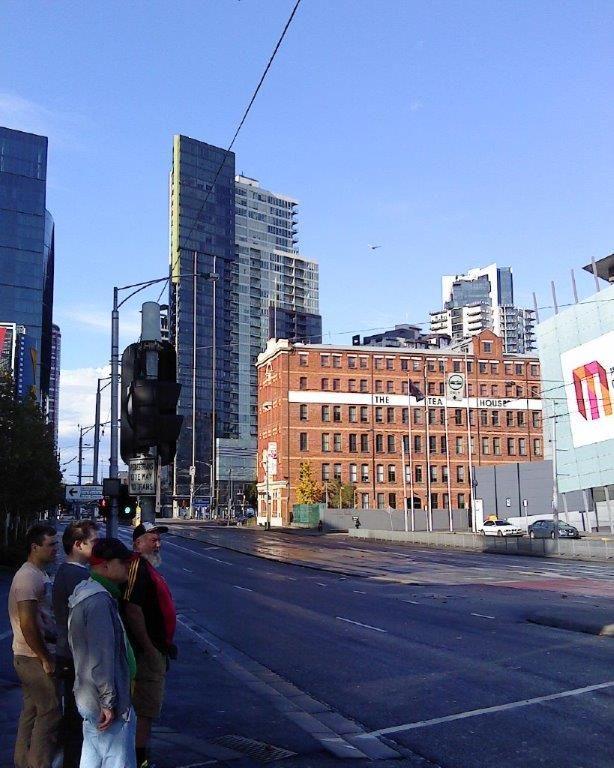 The Tea House, next to Convention Centre, Melbourne