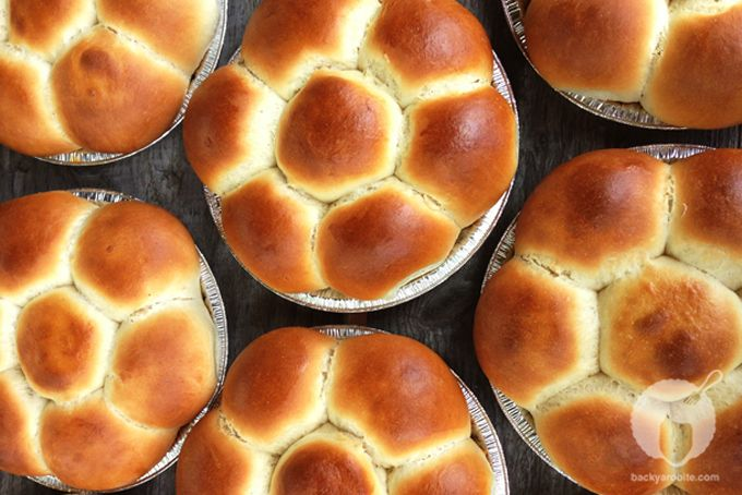 Portuguese Sweet Bread a.k.a. Pao Doce a.k.a. Hawaiian Sweet Rolls (recipe courtesy of the Kona Historical Society) Makes 4 loaves  Mix ...