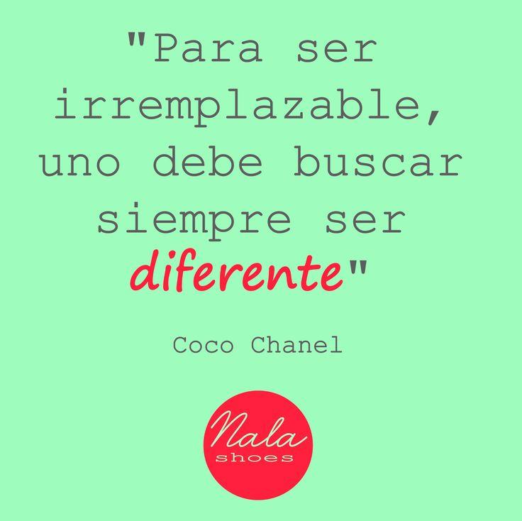Sé diferente!