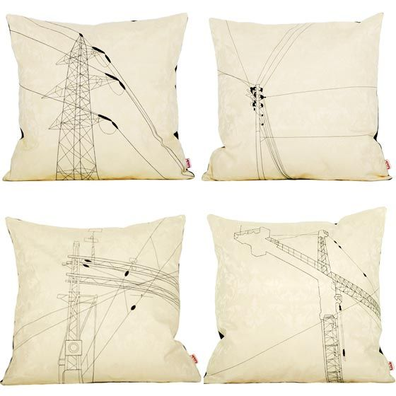 Cushions, design by Norwegian brand Funkle